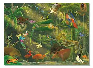 Melissa and Doug 500 Piece Beneath the Canopy Jigsaw Puzzle