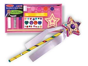 Melissa and Doug Decorate Your Own Princess Wand