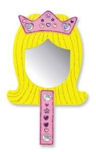 Melissa and Doug Decorate Your Own Princess Mirror