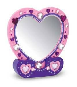Melissa and Doug Decorate Your Own Heart Mirror