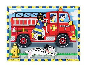 Melissa and Doug Fire Truck - Chunky Puzzle