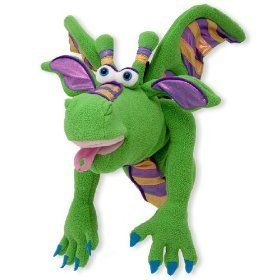 Melissa and Doug Smoulder the Dragon Puppet
