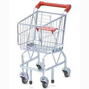 Melissa and Doug Metal Shopping Cart
