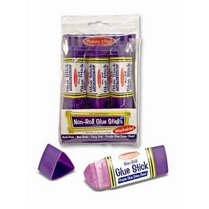 Melissa and Doug Non-Roll Glue Stick (3 pack)