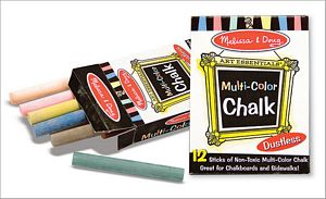 Melissa and Doug Multi-Colored Chalk