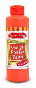 Melissa and Doug Orange Poster Paint