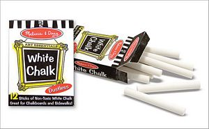Melissa and Doug White Chalk