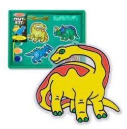 Melissa and Doug Dinosaur Sun Catchers Kit