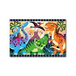 Melissa and Doug Dinosaur Dawn Floor Puzzle - kids dinosaur puzzle