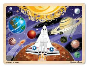 Melissa and Doug 48 Piece Space Voyage Jigsaw Puzzle