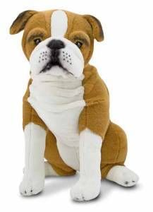 Melissa and Doug Plush Englsh Bulldog