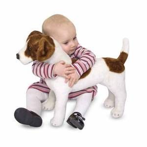 Melissa and Doug Plush Jack Russell Terrier