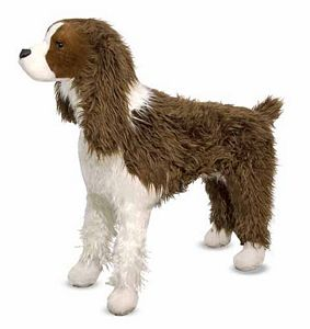 Melissa and Doug Stuffed English Springer Spaniel