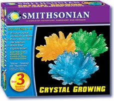 Smithsonian Crystal Growing Kit II, crystal growing kits for kids, childrens rock crystal set, magic