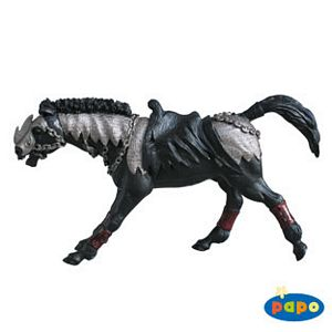 Papo Fantasy Black Horse Toy Model