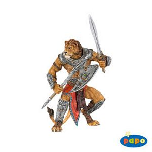 Papo Fantasy Lion Man Toy Model