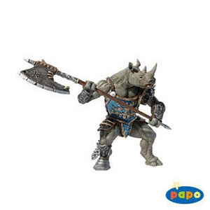 Papo Fantasy Rhino Man Toy Model