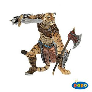 Papo Fantasy Tiger Man Toy Model