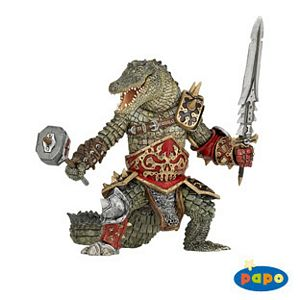 Papo Fantasy Crocodile Man Toy Model