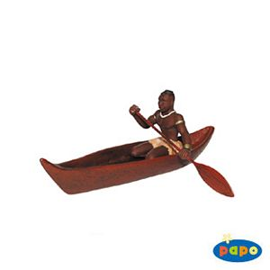 Papo African Rower Toy Model