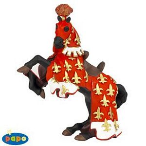 Papo Prince Philip's Horse Red