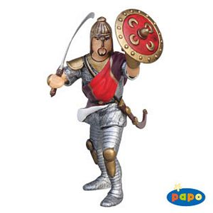 Papo Oriental Knight Red with Helmet