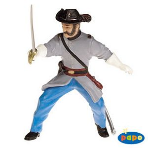 Papo Confederate Officer With Sabre Toy Model
