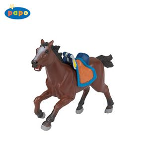 Papo Viking Horse Brown Toy Model