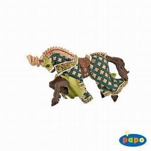 Papo Horse of Knight Dragon