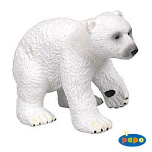 Papo Baby Polar Bear Toy Model