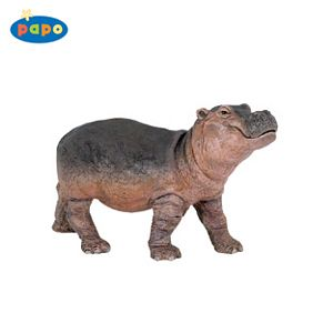 Papo Hippopotamus Calf Toy Model