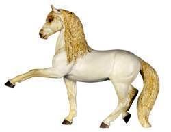 Safari Winner's Circle Andalusian Stallion Horse Model Toy