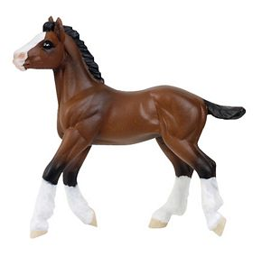 Safari Winner's Circle Clydesdale Foal model Toy Model
