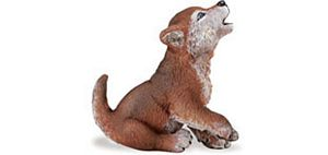 Wild Safari Forest Wolf Cub Toy
