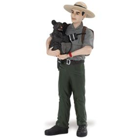 Safari People Jim the Park Ranger Toy Model