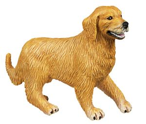Wild Safari Golden Retriever Best in Show Toy Model
