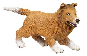 Collie Puppy Toy Model, Wildlife toys for kids, animal toys for kids, learn about animals, farm anim