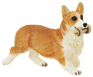 Wild Safari Pembroke Corgi Best in Show Toy Model