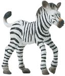 Wild Safari Wildlife Zebra Baby Replica Toy Model