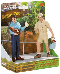 Zookeeper Model Toy Set, Wildlife toys for kids, animal toys for kids, learn about animals