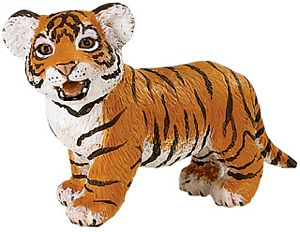 Wild Safari Wildlife Bengal Tiger Cub Toy Model