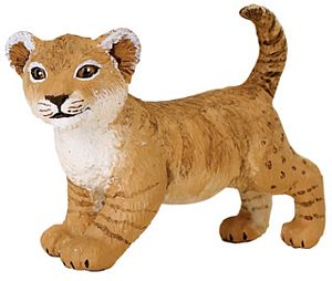 Wild Safari Wildlife Lion Cub Toy Model