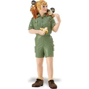 Jane with Spider Monkeys Zookeeper, Wildlife toys for kids, animal toys for kids, learn about animal
