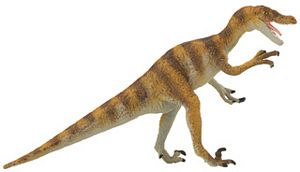 Carnegie Collection Velociraptor Dinosaur Toy Model