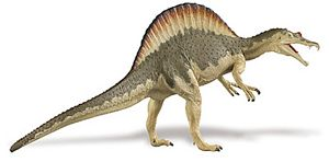 Carnegie Collection Spinosaurus Toy Dinosaur Model New