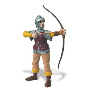 Safari Knight with Bow & Arrow Toy Model