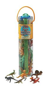 Safari Dawn of the Dinosaurs Mega Toob, dinosaur play set, dinosaur small replicas, dinosaur toys
