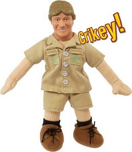 Steve Irwin Plush Talking Doll