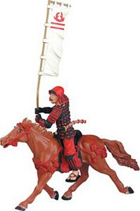 RetiredSafari Samurai Brown Horse Model Toy