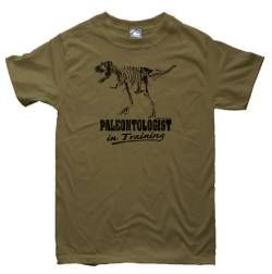Paleontologist In Training Dinosaur T-Shirt Youth X- Small